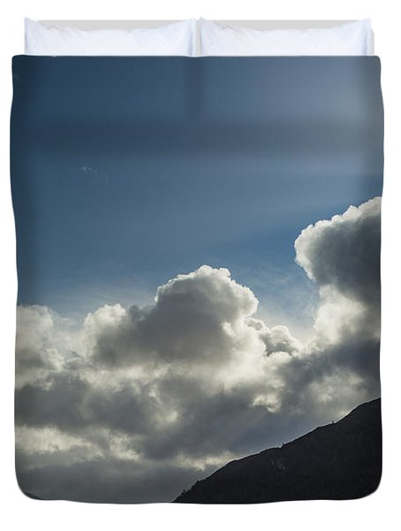 Loch Maree Sunburst Duvet Cover