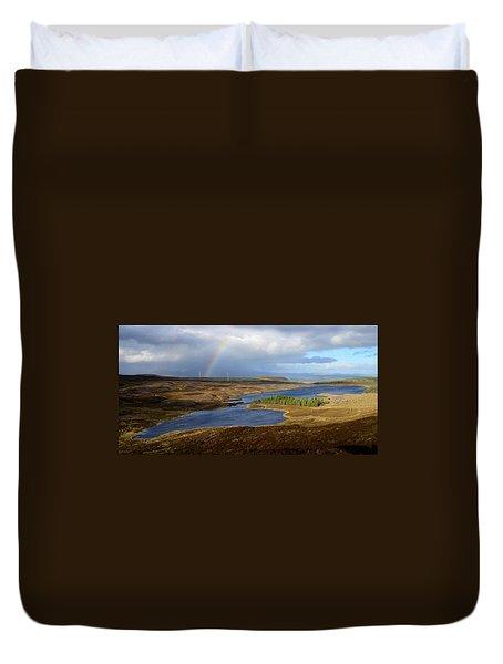 Loch Nam Bonnach Duvet Cover