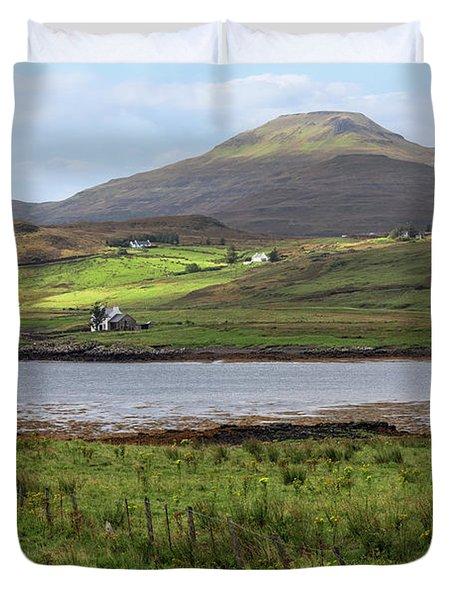Loch Vatten - Isle Of Skye Duvet Cover