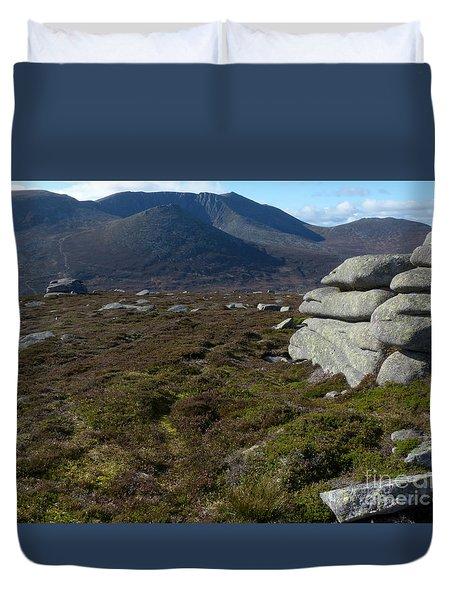 Lochnagar From Conachcraig Duvet Cover