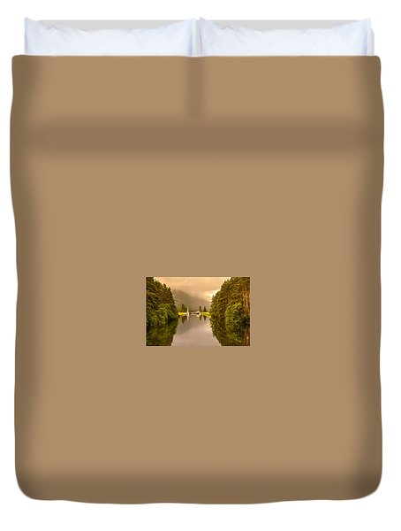Lock Ahead Duvet Cover