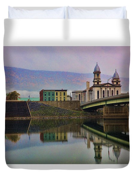 Lock Haven Pennsylvania Duvet Cover