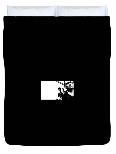 Lock, Stock And Two Smoking Barrels Duvet Cover