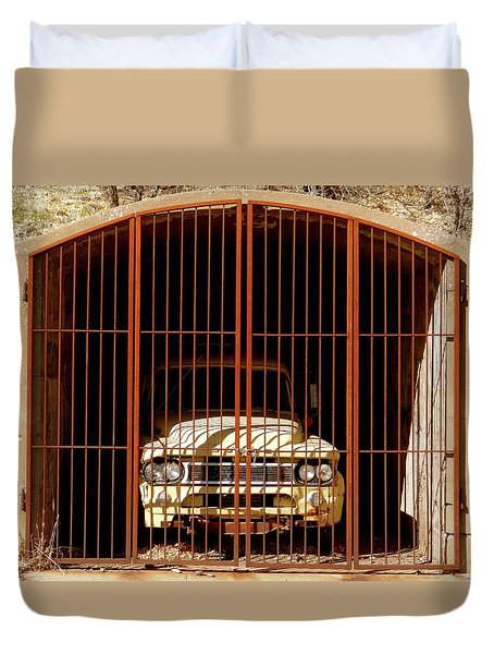 Locked Up Duvet Cover