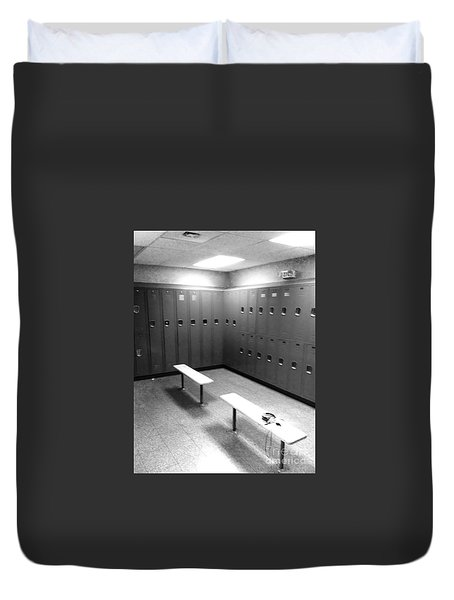 Locker Room Duvet Cover