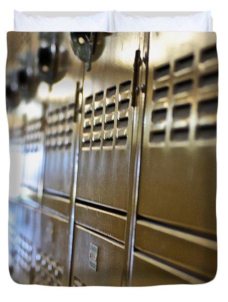 Lockers Duvet Cover