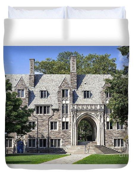 Lockhart Hall Princeton  Duvet Cover by John Greim