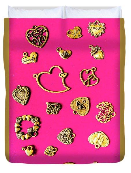 Locks Of Love Duvet Cover