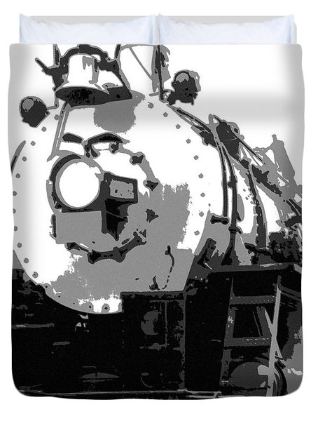 Locomotion Duvet Cover by Richard Rizzo