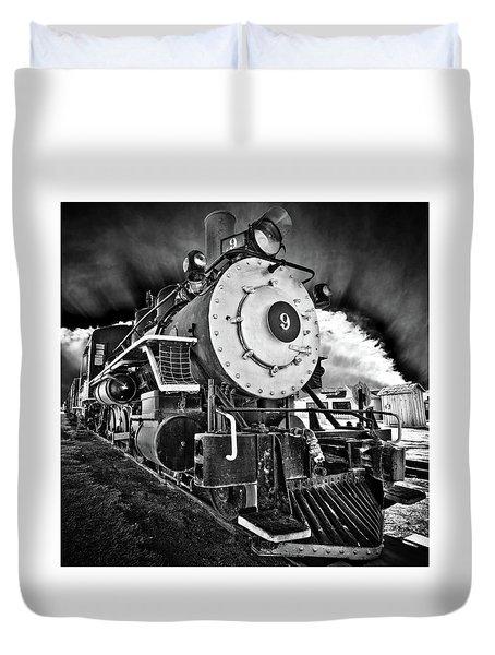 Locomotive Nine Duvet Cover