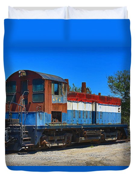 Locomotive Duvet Cover by Ronald Olivier