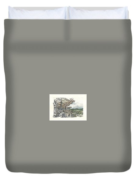 Lodge 2 Duvet Cover by Andrew Drozdowicz