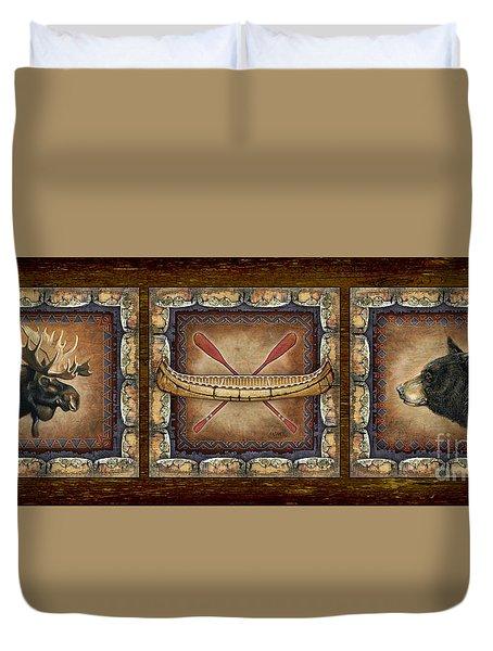 Lodge Panel Duvet Cover