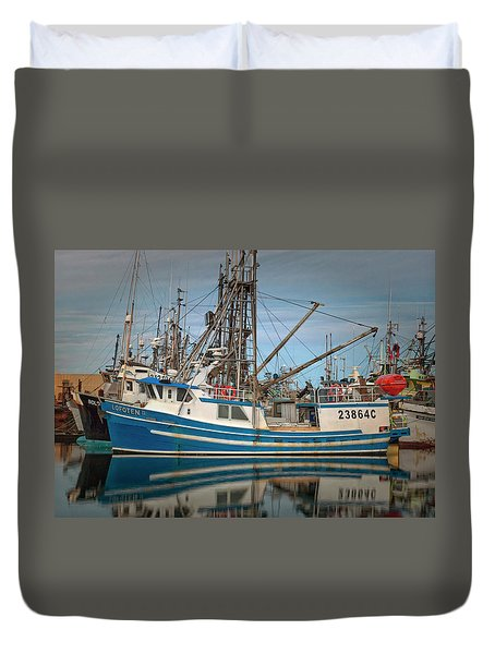 Duvet Cover featuring the photograph Lofoten 2 by Randy Hall