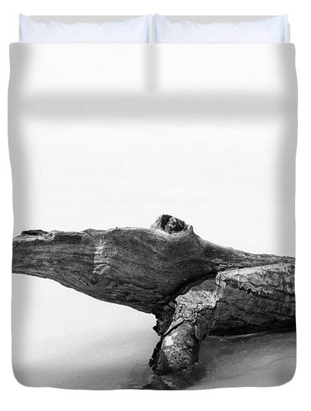 Log Monster Duvet Cover