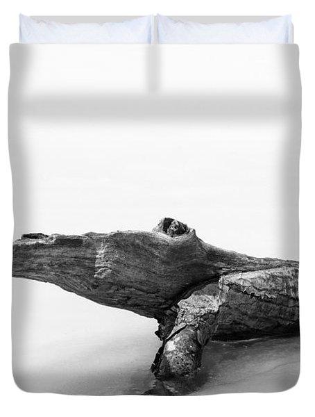 Log Monster Duvet Cover by Michael Hubley