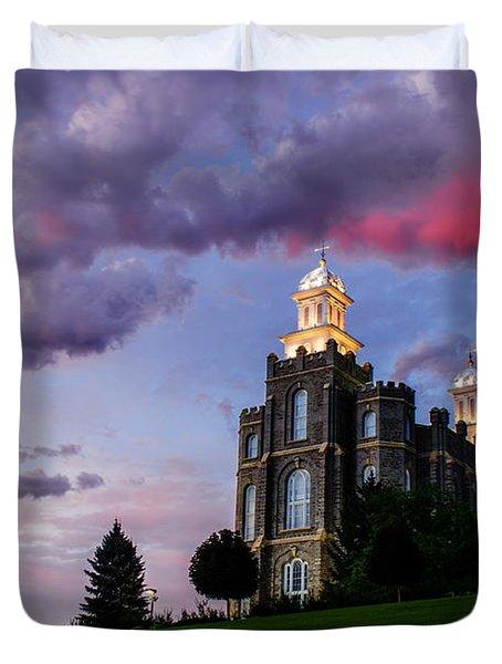 Logan Temple Heaven's Light Duvet Cover