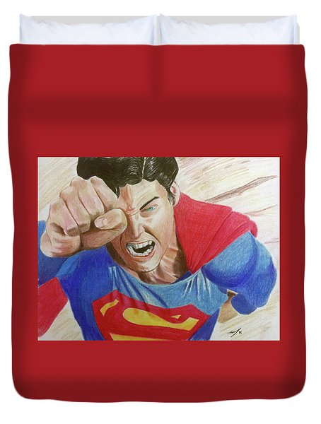 Lois' Death Duvet Cover