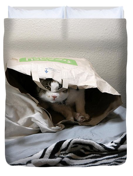 Lois's Favorite Cat Picture In The Whole Wide World Duvet Cover