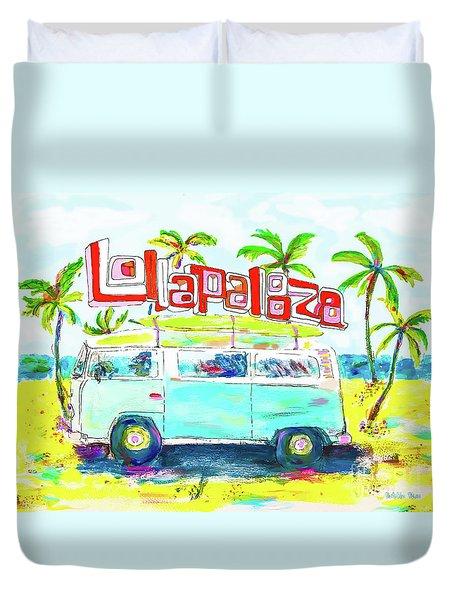 Lollapalooza Duvet Cover
