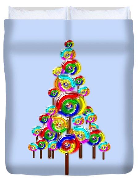 Lollipop Tree Duvet Cover