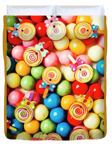 Lolly Shop Pops Duvet Cover