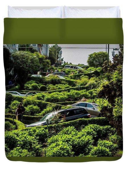Lombard Street Duvet Cover