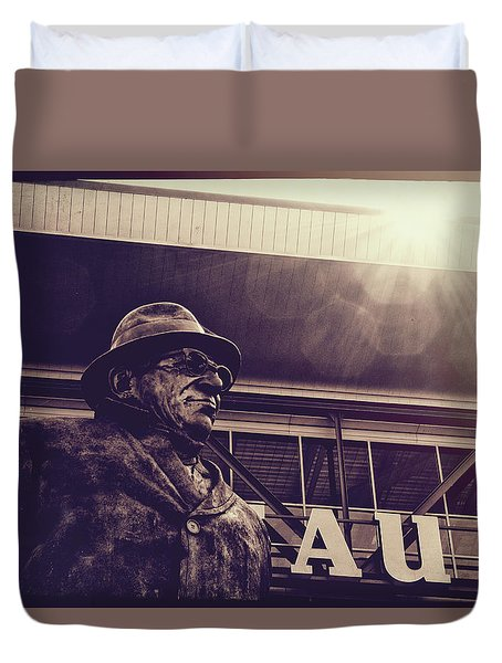 Lombardi - Shadow Of Greatness Duvet Cover