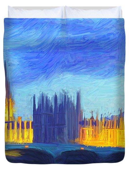 London 1 Duvet Cover
