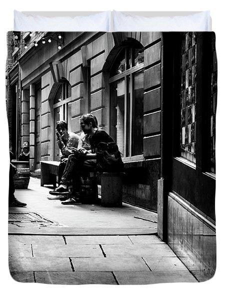 London Backstreet Alley Duvet Cover