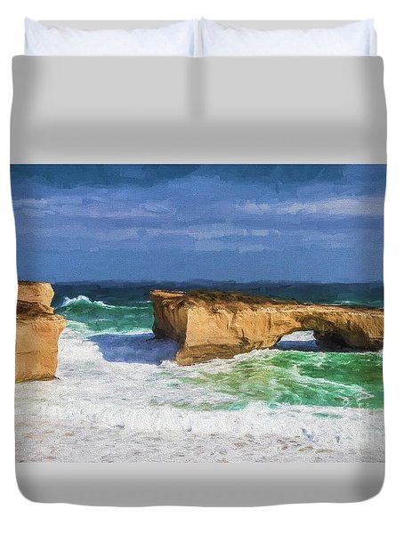 London Bridge Has Fallen Down Duvet Cover
