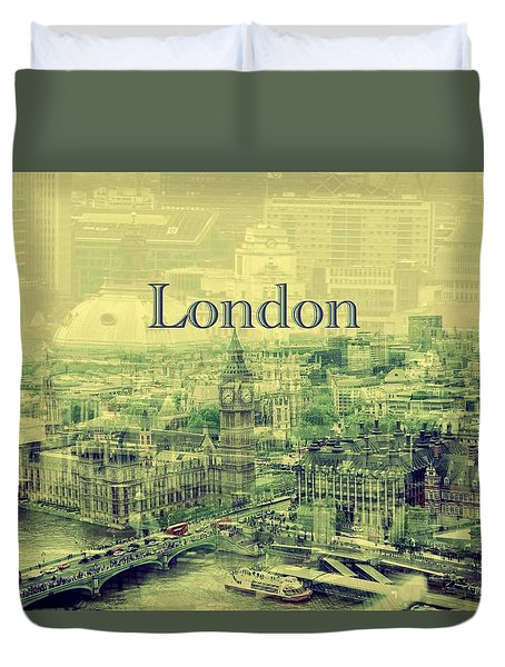 London Calling You Back Duvet Cover