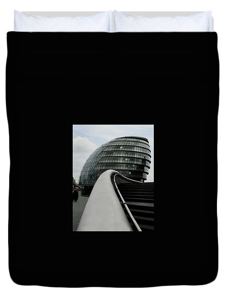 London City Hall Duvet Cover