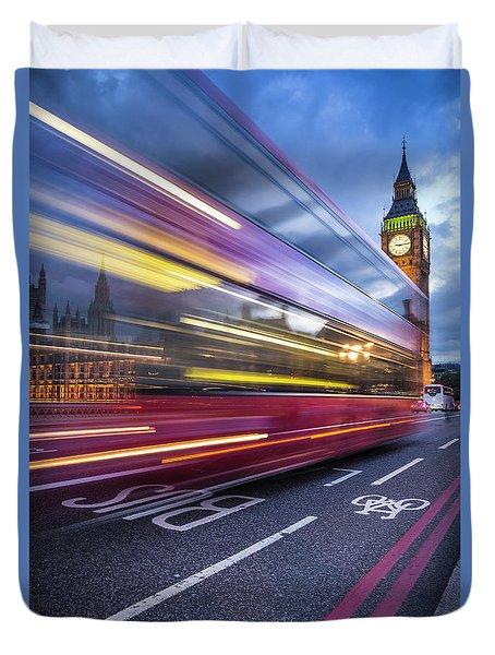 London Classic Duvet Cover