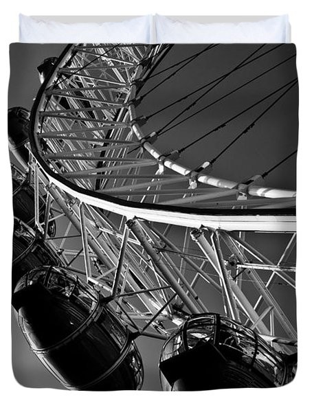 London Eye Duvet Cover by David Pyatt