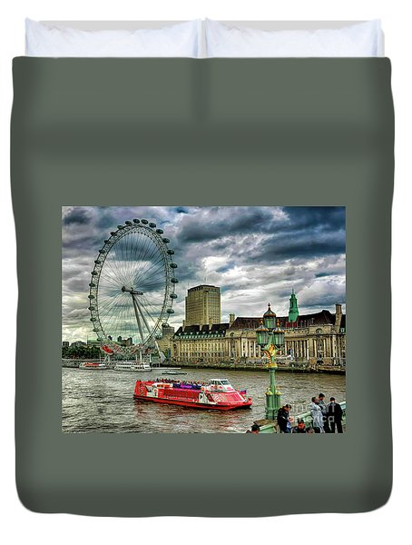 London Eye Duvet Cover