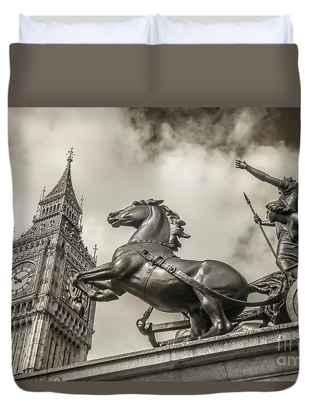 London Guardians Duvet Cover
