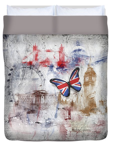 London Iconic Duvet Cover