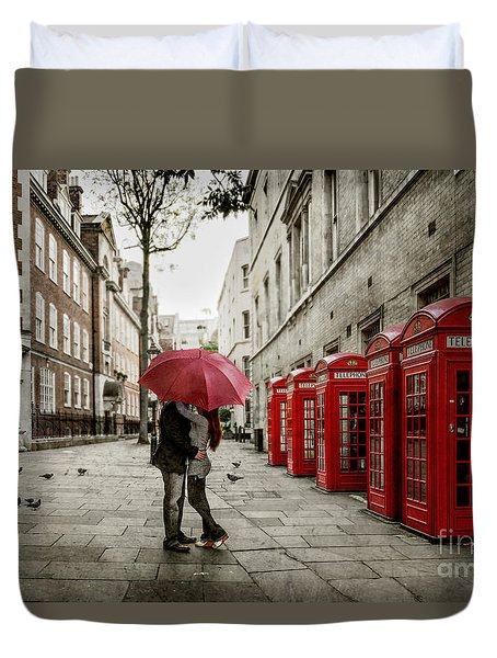 London Love Duvet Cover