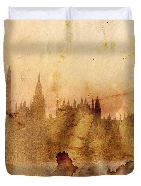London Duvet Cover by Michal Boubin