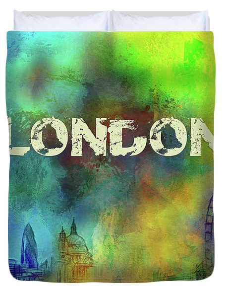 London - Skyline Duvet Cover