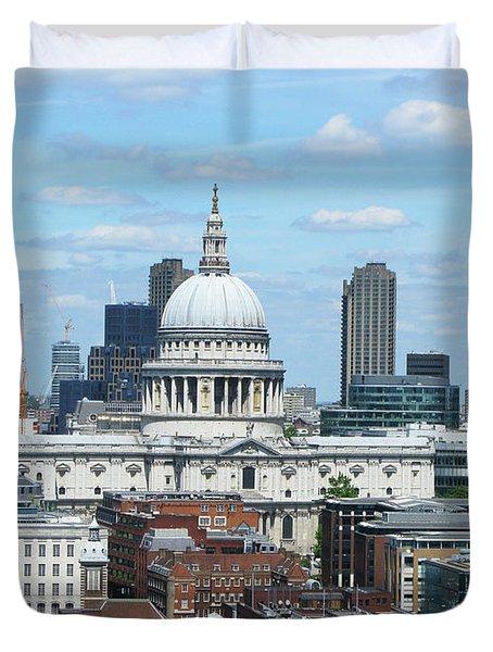 London Skyscrape - St. Paul's Duvet Cover