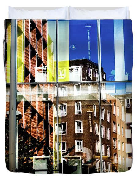 London Southwark Architecture 2 Duvet Cover by Judi Saunders