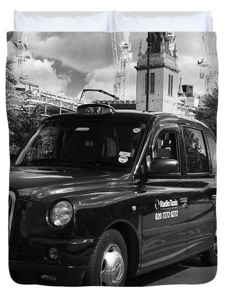 London Taxi Duvet Cover