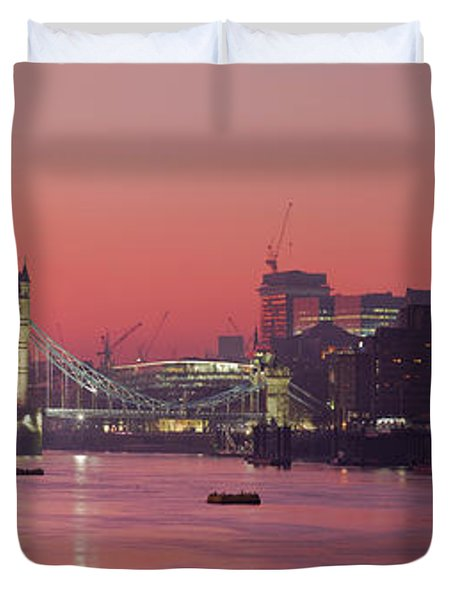London Thames Duvet Cover