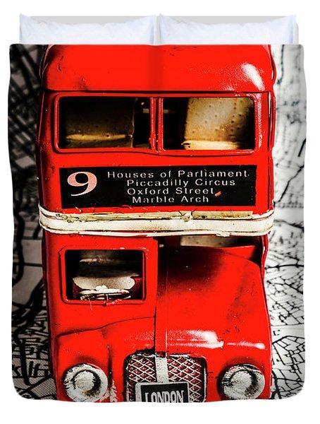 London Tours Duvet Cover