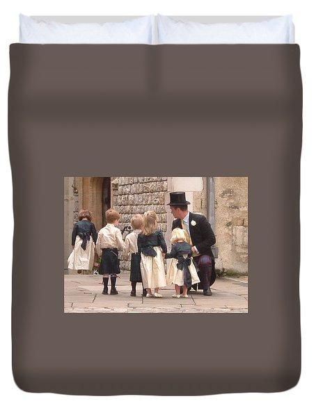 London Tower Wedding Duvet Cover