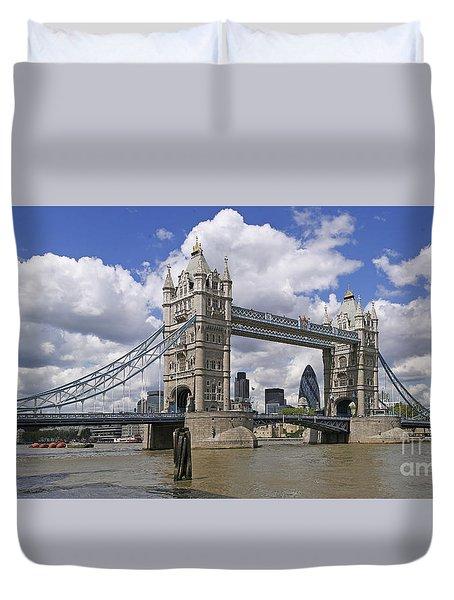 London Towerbridge Duvet Cover