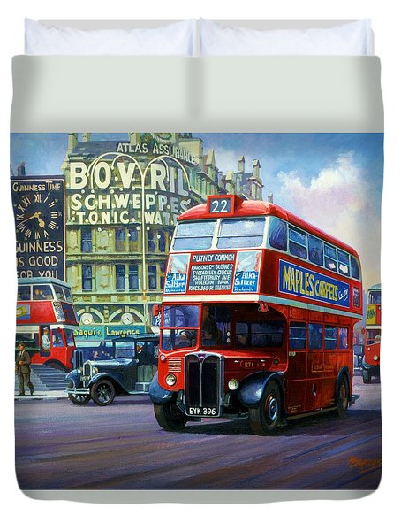 London Transport Rt1. Duvet Cover