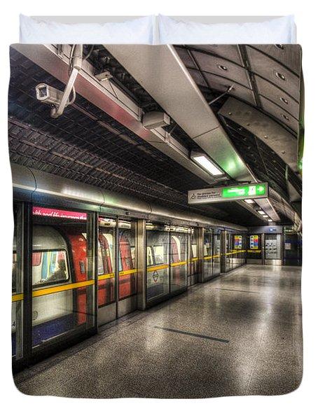 London Underground Duvet Cover by David Pyatt
